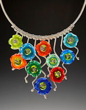 Circle of Flowers Necklace