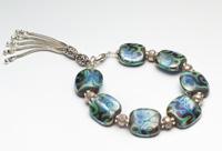 Turquoise Sheen  Bracelet
