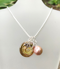 Pearl Rose Gold Necklace