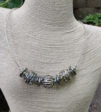 Geometric Line Necklace