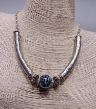 Signature Silver Swirl Short Necklace