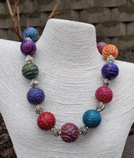 Battuto Colors Necklace