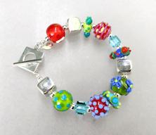 Colors and Squares Bracelet