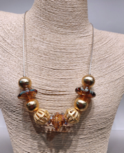 Gold Sheen Necklace