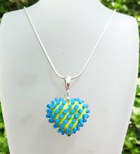 Heart Poka Dots Lime