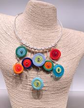 Circles Colors Necklace