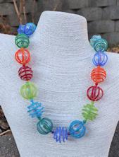 Color Lines Necklace