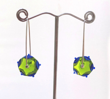 Swing Green Earrings