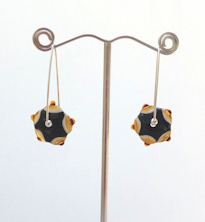 Swing Topaz Earrings